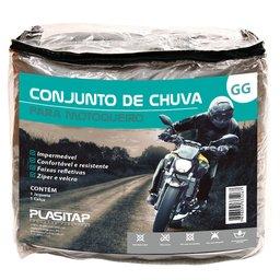 Conjunto Impermeável para Motoqueiro Tamanho GG