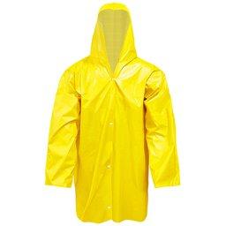 Capa de Chuva Fit Forrada Amarela Tamanho GG