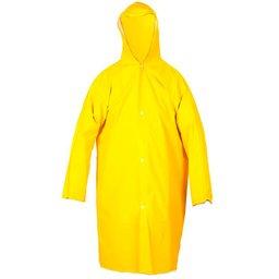 Capa de Chuva Amarela Forrada Tamanho G
