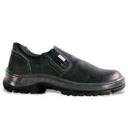Sapato de Segurança com Elástico e Biqueira em Polipropileno - Número 38