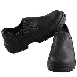 Sapato de Segurança com Bico em PU Preto Nº39