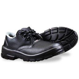 Sapato de Amarrar Premium Preto com Bico em PVC N° 43