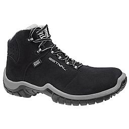 Sapato de Segurança Energy Cano Médio com Bico de PVC N°44 Preto/Cinza