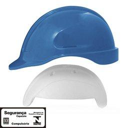 Capacete de Segurança Azul Turtle com Absorvedor de Impacto