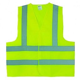 Colete Refletivo Jaqueta Amarelo Fluorescente XXG