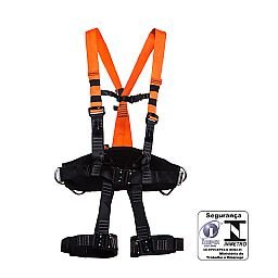 Cinturão de Segurança tipo Paraquedista Eletricista com Engate Rápido