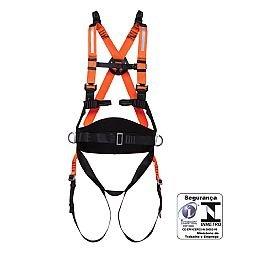 Cinturão de Segurança tipo Paraquedista Contra Quedas com Fita Refletiva
