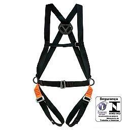 Cinturão Paraquedista com 3 Meia-Argolas