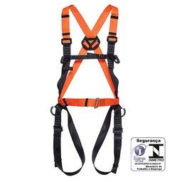 Cinturão Paraquedista com Regulagem Total e 3 Meia-Argolas