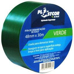 Fita de Demarcação PVC Verde 48mm x 30m