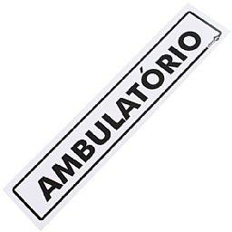 Placa Sinalizadora para Ambulatório