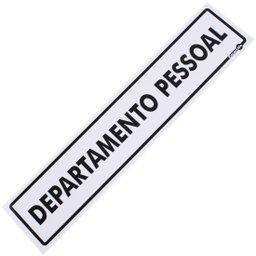 Placa Sinalizadora para Departamento Pessoal