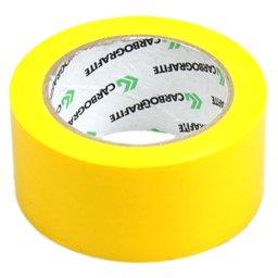 Fita Adesiva de Demarcação Amarela 50mm x 30m