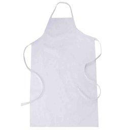 Avental de PVC Branco 0,70 x 1,20m