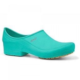 Sapato Flip Impermeável Verde com Solado de Borracha Nº 38