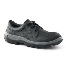 Sapato de Segurança com Cadarço e Bico de Aço - Número 45