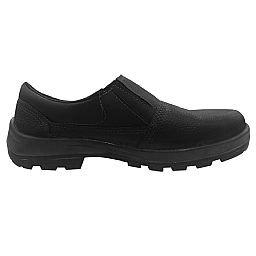 Sapato de Segurança Preto com Elástico Nº39