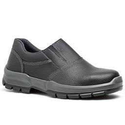 Sapato de Segurança com Elástico e Bico de Aço Nº 39