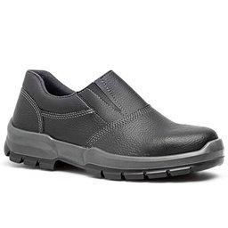 Sapato de Segurança com Elástico e Bico de Aço Nº 41
