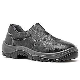 Sapato de Segurança Preto HLS em Microfibra com Elástico Nº 41