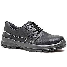 Sapato de Segurança Preto com Cadarço Nº 42