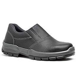 Sapato de Segurança com Elástico e Bico de Aço Nº 43