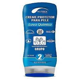 Creme Protetor Luva Química Grupo 2 Bisnaga 200g