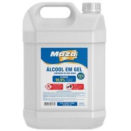 Álcool em Gel Higienizador 70% 5 Litros