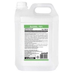 Álcool Líquido 70% 5 Litros para Uso Geral