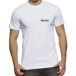 Camisa de Segurança Dry Fit UV 50 Manga Curta Branca Tamanho G