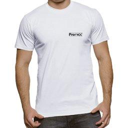 Camisa de Segurança Dry Fit UV 50 Manga Curta Branca Tamanho P
