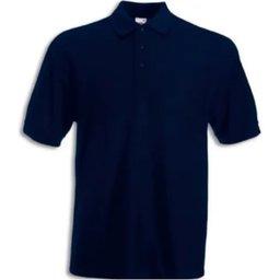 Camisa Polo Piquet Azul Marinho XG