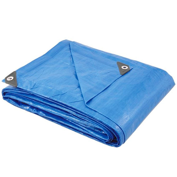 Lona de Polietileno Azul 10m x 4m