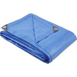 Lona de polietileno azul 6 m x 5 m