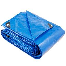 Lona Reforçada de Polietileno Azul 6m x 3m