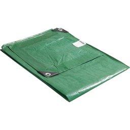 Lona de polietileno verde 2 m x 2 m