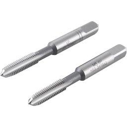 Macho Manual de Aço Rápido 5 mm x 08 mm Ma Jogo com 2 Peças Plus