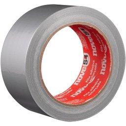 Fita adesiva reforçada 50 mm x 25 m prata NOVE54