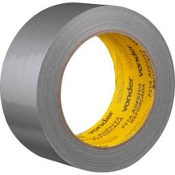 Fita adesiva reforçada 50 mm x 25 m prata VONDER