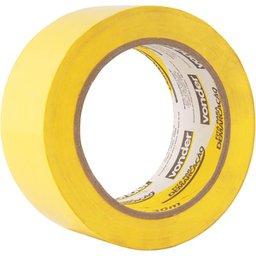Fita adesiva para demarcação 48 mm x 30 m amarela VONDER
