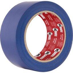 Fita adesiva para demarcação 48 mm x 30 m azul NOVE54