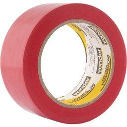Fita adesiva para demarcação 48 mm x 30 m vermelha VONDER