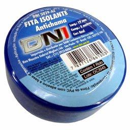 Fita Isolante PVC Azul 5m x 19mm