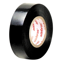 Fita Isolante Antichama Preta 19mm x 20m