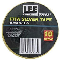 Fita Silver Tape Amarela de 10 m