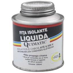 Fita Isolante Liquida Cor Preta - 200ml