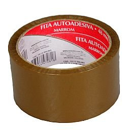 Fita Auto Adesiva Marron 48mm x 45m