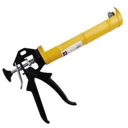 Pistola para Aplicação de Silicone Meia Cana