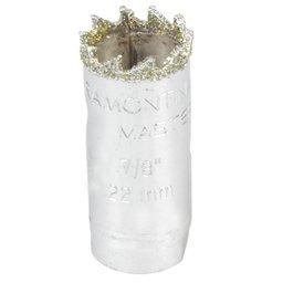 Serra Copo Diamantada de 7/8 Pol.