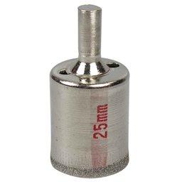 Serra Copo Diamantada de 25mm para Vidro e Mármore